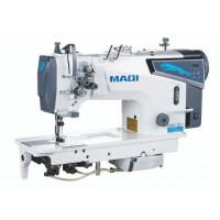 MAQI LS8750DP промислова двохголкова машина з відключенням голок та збільшеними човниками